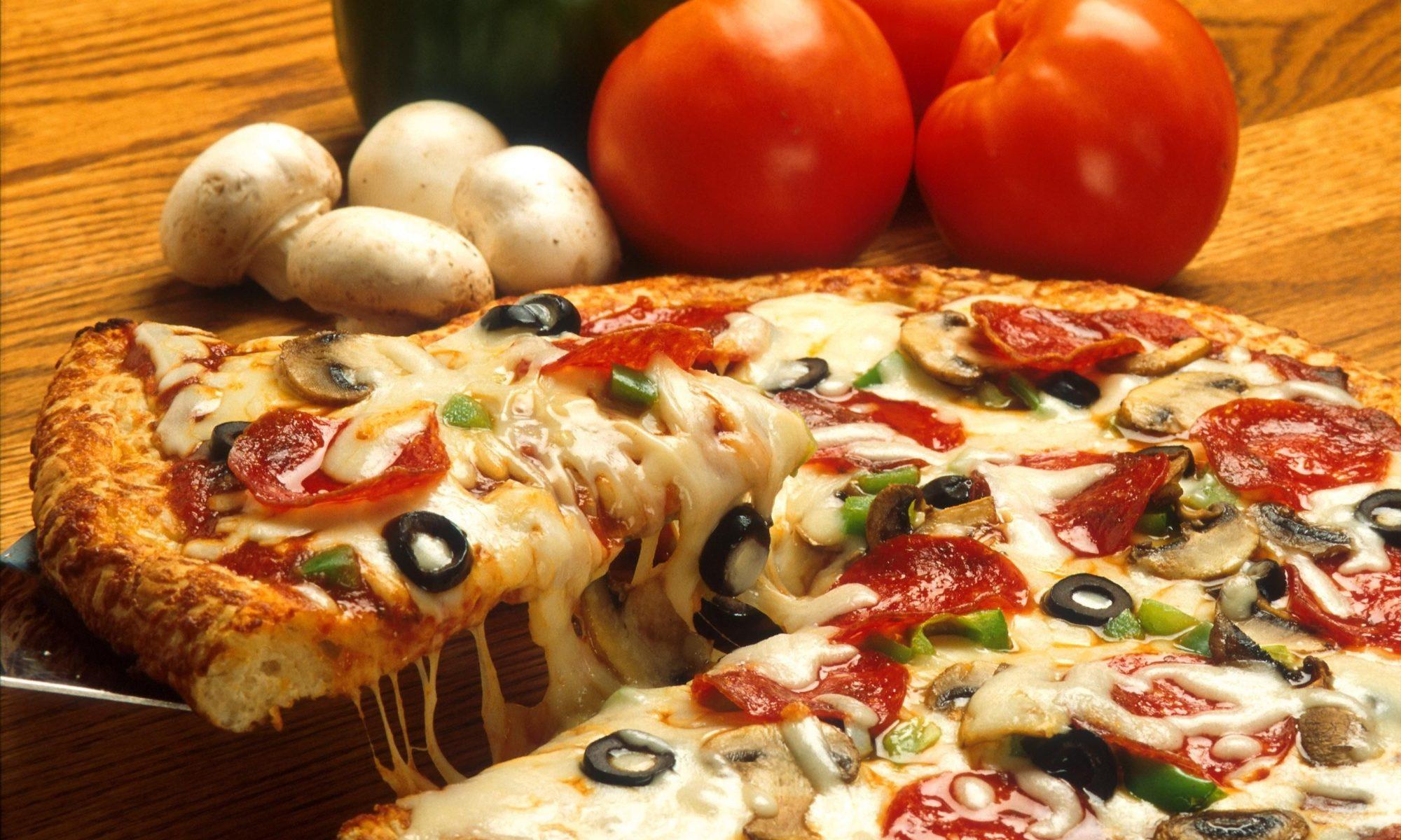 pizza vegetariana a Rimini